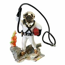 Action Air® Diver with Hose Live-Action Aerating Aquarium Ornament - Color May