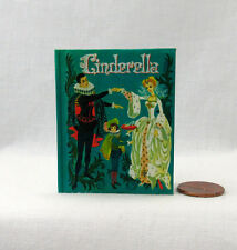 CINDERELLA Illustrated Book 1:3 Scale Readable Book 18 Inch American Girl Doll