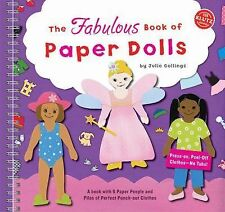 The Fabulous Book of Paper Dolls (2001, Spiral)