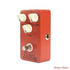 Joyo JF-03 Crunch Distortion replicates Full-Stack Marshall crunch Gain Settings
