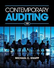 Contemporary Auditing by Michael C. Knapp (2014, Paperback) ,10th edition