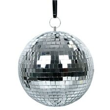 DL-MRBALL20 20CM SILVER MIRROR CEILING DISCO BALL