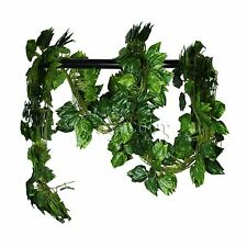7.5ft Artificial Ivy Leaf Garland Plants Vine Rohdea Foliage Flowers Home Decor