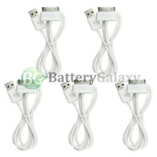 5 White USB Sync Battery Charger Cable for Samsung Galaxy Tab Tablet 2 Plus 7.0""