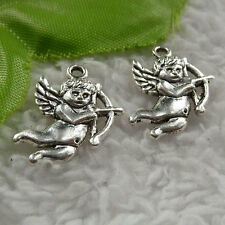 free ship 200 pieces tibet silver Cupid charms 22x16mm #4061