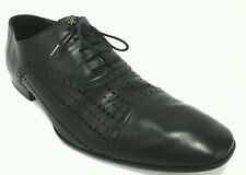 Roberto Cavalli  Mens Dress Lace Up Shoes Black US  10.5 EU 43.5 Made In Italy