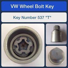 originale VW Bullone Di Bloccaggio Della Ruota / Dado Chiave 537 T