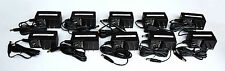 Lot of 10 Power Supply Adapter Input 100-120 volts Output 12VDC, 1.0A
