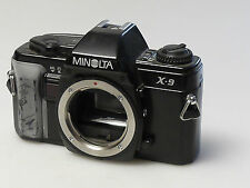 (PRL) MINOLTA X9 BODY 135 35 mm SLR SPARE PARTS FOTORIPARATORE REPAIR REPARATION