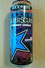 1 plena Energy Drink lata # Rockstar Super sour Raspberry Rock am Ring 2015 can