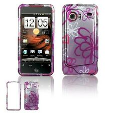 Lime Flower Hard Case Cover for HTC Droid Incredible