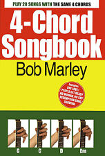 4-Chord Songbook Bob Marley Learn to Play Reggae Guitar Lyrics Music Book