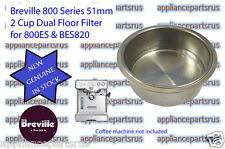 Breville Coffee Machine 2 Cup Filter 800ES BES820 - Part No 800ES/235.1 IN STOCK