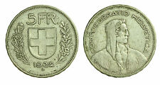 pci1415) Svizzera  Switzerland  Helvetia - 5 Franchi Francs 1932 B not cleaned