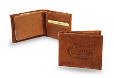 Florida Gators STANDARD Authentic Embossed Leather Billfold Wallet NCAA