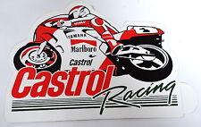 Aufkleber CASTROL RACING Yamaha MotoGP Sticker Autocollant