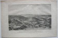 Morat Murten Schweiz Fribourg Ansicht Orig Kupferstich Nee 1780 Zurlauben