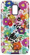 Speck Samsung Galaxy S5 CandyShell Inked-Bold Blossoms White/Revolution Purple