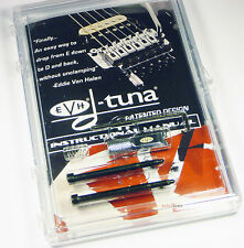 EVH Van Halen CHROME DTuna Drop Tuner for Locking Trem Floyd Rose Tremolo DT100C