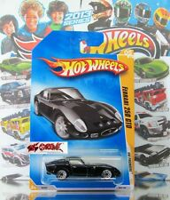 Hot Wheels 2009 #005 Ferrari 250 GTO BLACK,2ND COLOR,WSP,BLACK BASE,INTL,NICE!