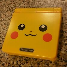 Gameboy advance sp: Pikachu limited edition (ags-101)