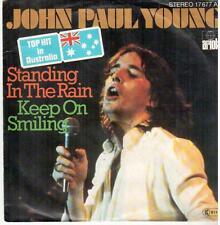 "1468-03  7"" Single: John Paul Young - Standing In The Rain / Keep On Smiling"