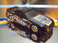 2016 Hot Wheels Special Custom Black '96 NISSAN 180SX TYPE X with Real Riders