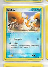 KRABBY - 66/112 - POKEMON - EX FIRE RED & LEAF GREEN - Buy more cards and save!