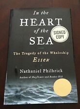 SIGNED! In the Heart of the Sea by Nathaniel Philbrick