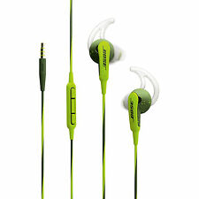 Bose SoundSport In-ear Headphones- Energy Green for Apple devices, iOS