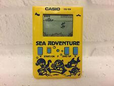 Sea Adventure Casio Handheld Game CG-125 Vintage 1988 Works
