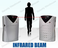 L6B WIRELESS Alert IR INFRARED BEAM Motion SENSOR Door Alarm Detector Sleep Walk