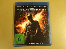 2-DISC BLU-RAY / THE DARK KNIGHT RISES ( CHRISTIAN BALE, MICHAEL CANE... )