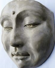 Lot of 3 Original Art for Home Decor, Feng Shui Buddha Face Adds Unique Touch