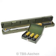 Proxxon 23353/2 Drehmomentschlüssel-Set 40-200 Nm mit Alufelgen-Nüssen 17 19 21