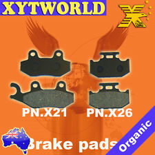 FRONT REAR Brake Pads for Suzuki DR 250 S SJ 44A 1990-1995