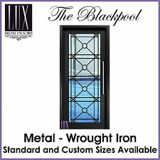 LUX Wrought Iron Doors - The Blackpool S - All Metal -  FREE DELIVERY AUSTRALIA