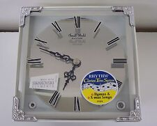 RHYTHM MANTEL CLOCK:4RH785WU03 JOYFUL DREAM 6 HYMNS AND 6 CHRISTMAS MELODIES