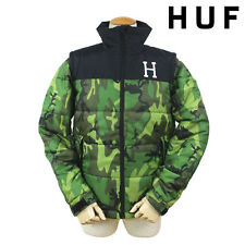 HUF Alpine Camo Jacket Vest sz L camouflage nike sb supreme green diamond supply