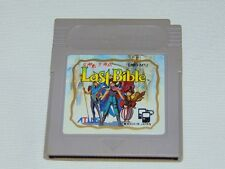 Game Boy JAP: Last Bible (cartucho/cartridge)
