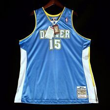 100% Authentic Mitchell & Ness Carmelo Anthony Nuggets NBA Jersey Size 52 2XL