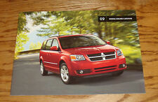 Original 2009 Dodge Grand Caravan Sales Brochure 09