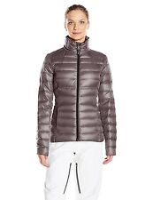 NWT Women's Gray  Spyder Prymo Down Jacket Ski  Size X-Small  XS Free Shipping
