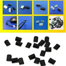 30Pcs Adhesive Car Wire Cord Cable Holder Ties Mini Stick 3M Fixed Clips Clamps