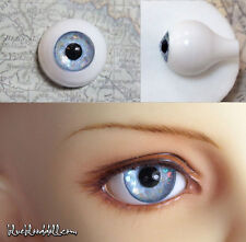 12mm acrylic doll eyes Glitter Light Blue full eyeball bjd dollfie AE-43