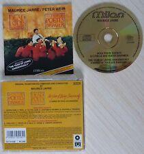 CD ALBUM LE CERCLE DES POETES DISPARUS BOF MUSIQUE DE FILM BY MAURICE JARRE