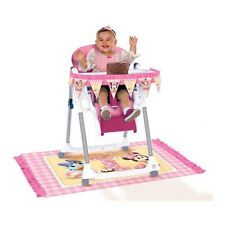 Disney Baby Minnie Mouse Happy 1st Birthday Party High Chair Decorating Kit