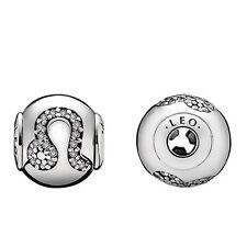 Authentic Pandora Retired 925 796038cz Essence Leo zodiac sign bead charm NWOT