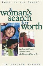 A Woman's Search for Worth, Newman, Deborah, Good Book