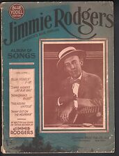 Jimmy Rodgers Album of Songs Blue Yodel Edition